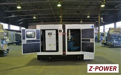 Аренда генератора Z-POWER ZP165P